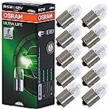 OSRAM 5007ULT ULTRA LIFE, R5W, bijzonder duurzaam, halogeen signaallampen, kartonnen vouwdoos (10 lampen)