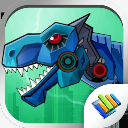 Dinosaur Robot Wars -