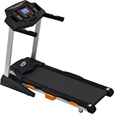 Durafit Heavy-Hike 2.5HP (Peak 5.0 HP) Motorized Foldable Treadmill with Auto-Incline