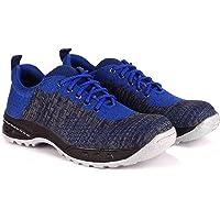 Udenchi UD2706 Industrial Safety Shoes With Steel Toe | Size - 6 UK, RoyalBlue