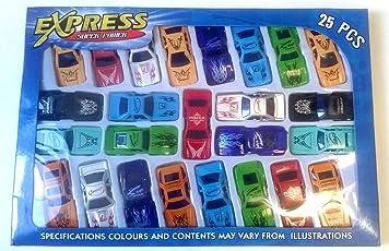 Zest 4 toyz 25 Pcs Cars Set Of Kids Small Sports Cars.