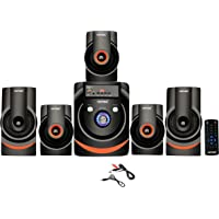 Vemax Manor Pro 5.1 Bluetooth Multimedia Home Theater System with FM, Pen Drive, Sd Card, Mobile Aux
