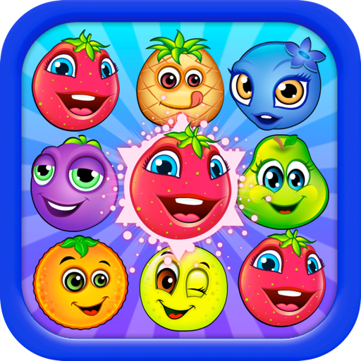Frenzy Fruits - match 3 puzzle game: swap pop & blast!