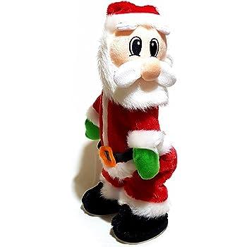 XL Twerking singender tanzender lustiger Weihnachtsmann 35cm~Popo~Santa~XMAS