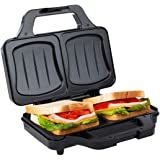 Ultratec Sandwichera, sandwichera eléctrica, tostadora sandwichera para tostadas XXL, placas antiadherentes, minitostadora co