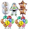 Decoración de Fiesta de Cumpleaños Toy Story 23 Piezas Cumpleaños Globos de Toy Story Globos de Aluminio para Niños Decoracio