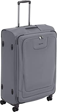 AmazonBasics - Premium-Weichschalen-Trolley mit TSA-Schloss, erweiterbar, 74 cm, Grau