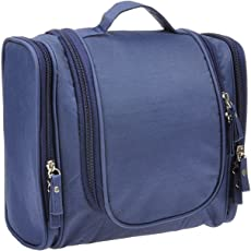 Egab Travel Toiletry Bag Waterproof Toiletry Kit Potable Dopp Kit Large Capacity Cosmetice Bags for Packing Make Up