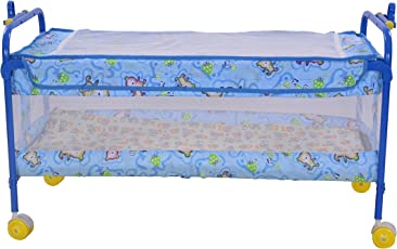 Mother Touch High Compact Cradle (Light Blue)