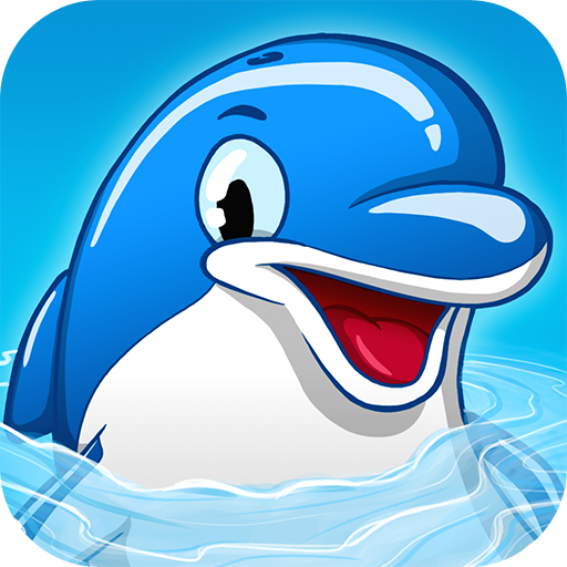 Swim Like A Dolphin 3D Free - Surfing Dolphins