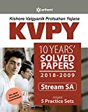 KVPY 10 Years Solved Papers 2018-2009 Stream SA(Old Edition)