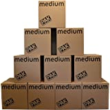 StorePAK Medium Storage Boxes - Archive Cardboard Boxes with Handles, 64 litres - 100% Recyclable - H40.5 x W40.5 x D40.5 cm