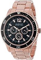 August Steiner Men's Mercury Quartz Multifunction Divers Bracelet Watch