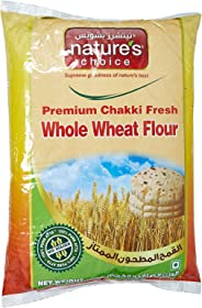 Natures Choice Premium Chakki Fresh Whole Wheat Flour (Atta) - 5 kg