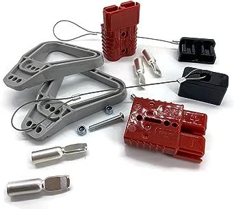 Batterie Stecker 175a 35 Mm2 Rot Vollset Steckverbinder Für Gabelstapler Kabel Beleuchtung