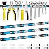 Alaskaprint 3X Magnetische Tool Houder Magneet Tool Bar Garage Wandhouder Strip voor Gereedschap Bar met Magneet voor Worksho