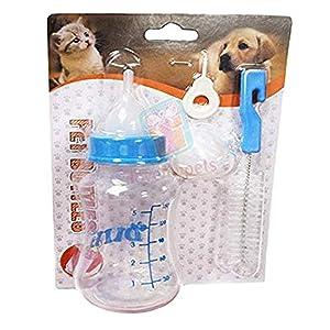 ADIOS Milk Feeding Nursing Bottle Set for Small Dog, Puppy, Cat, Kitten, Rabbit