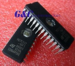 AST Works 5PCS IC M27C512-10F1 27C512 CDIP-28 ST New Good Quality
