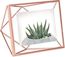 Umbra Prisma multi photo frame made of steel, copper