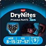 DryNites Huggies Pyjama Pants for Boys, Child Night Underwear, Age 8-15, (9 Pants)