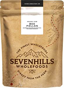 Sevenhills Wholefoods Organic Raw Bee Pollen (Spanish) 1kg