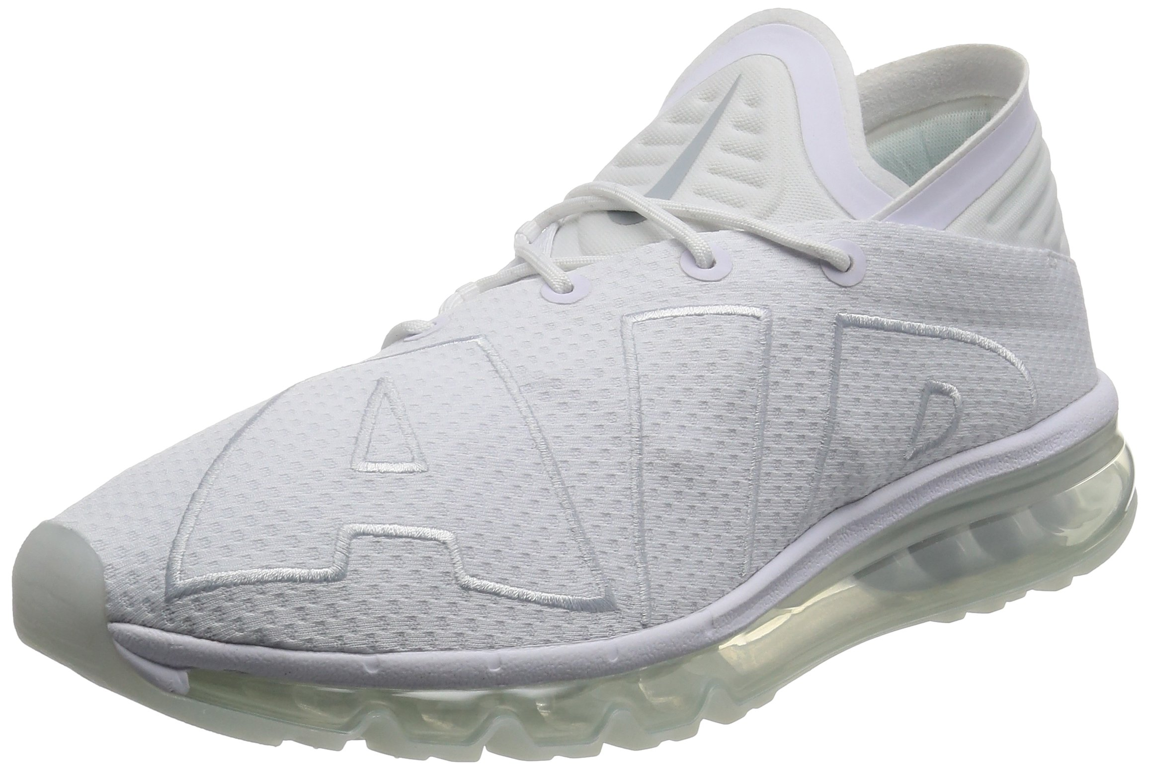 815JiLrsgtL - Nike Mens - Air Max Flair - Triple White - 942236-100