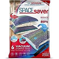 Sacs de Rangement Sous Vide Jumbo 100x80cm Premium Space Saver + Sans Hand-Pump Pour Voyage.(80% de L'espace de Stockage…