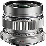 Olympus M.Zuiko Digital ED 12 mm 1:2.0 Objektiv silber