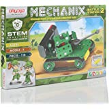 Mechanix Battle Station,Construction Set,War Themed Building Blocks,for 6+ yrs Boys and Girls