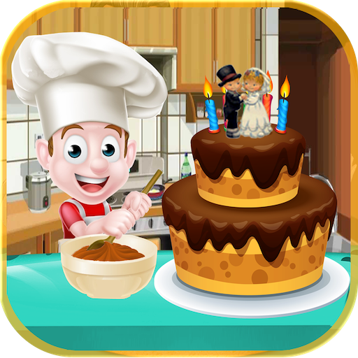 Cake Maker : Cooking Games - My Bakery (Crest Vanille)