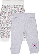 Mothercare Baby Girls' Joggers (Pack of 2)