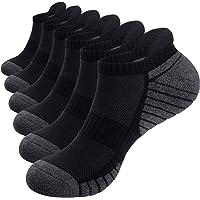 Alaplus Sports Socks Cushioned Running Socks 6 Pairs Trainer Socks for Men Women Cotton Ankle Socks Low Cut Athletic…