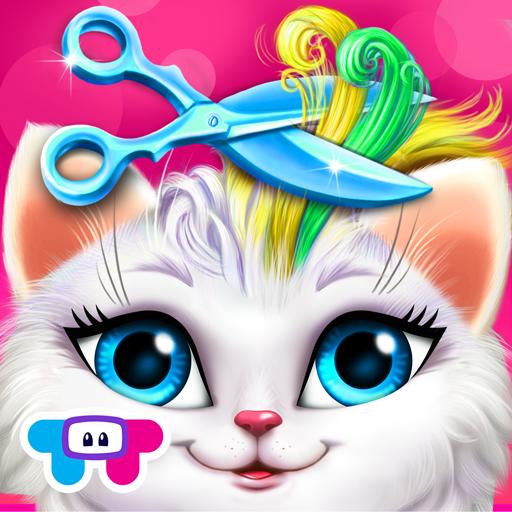Loca peluquería para gatos - Cambio de peinado