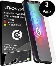 cTRON21® Schutzfolie Samsung Galaxy S8 [Vollständige Abdeckung] Display Folie TPU Displayschutzfolie [Keine Bläschen] Hüllen freundlich