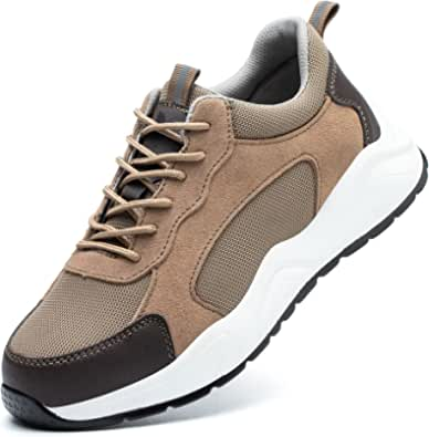 Steel Toe Cap Trainers Mens Lightweight Breathable Safety Work Shoes