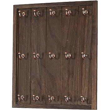 dandibo tassenhalter wand schwarz metall 68 cm olivia tassenhaken k che vintage antik. Black Bedroom Furniture Sets. Home Design Ideas