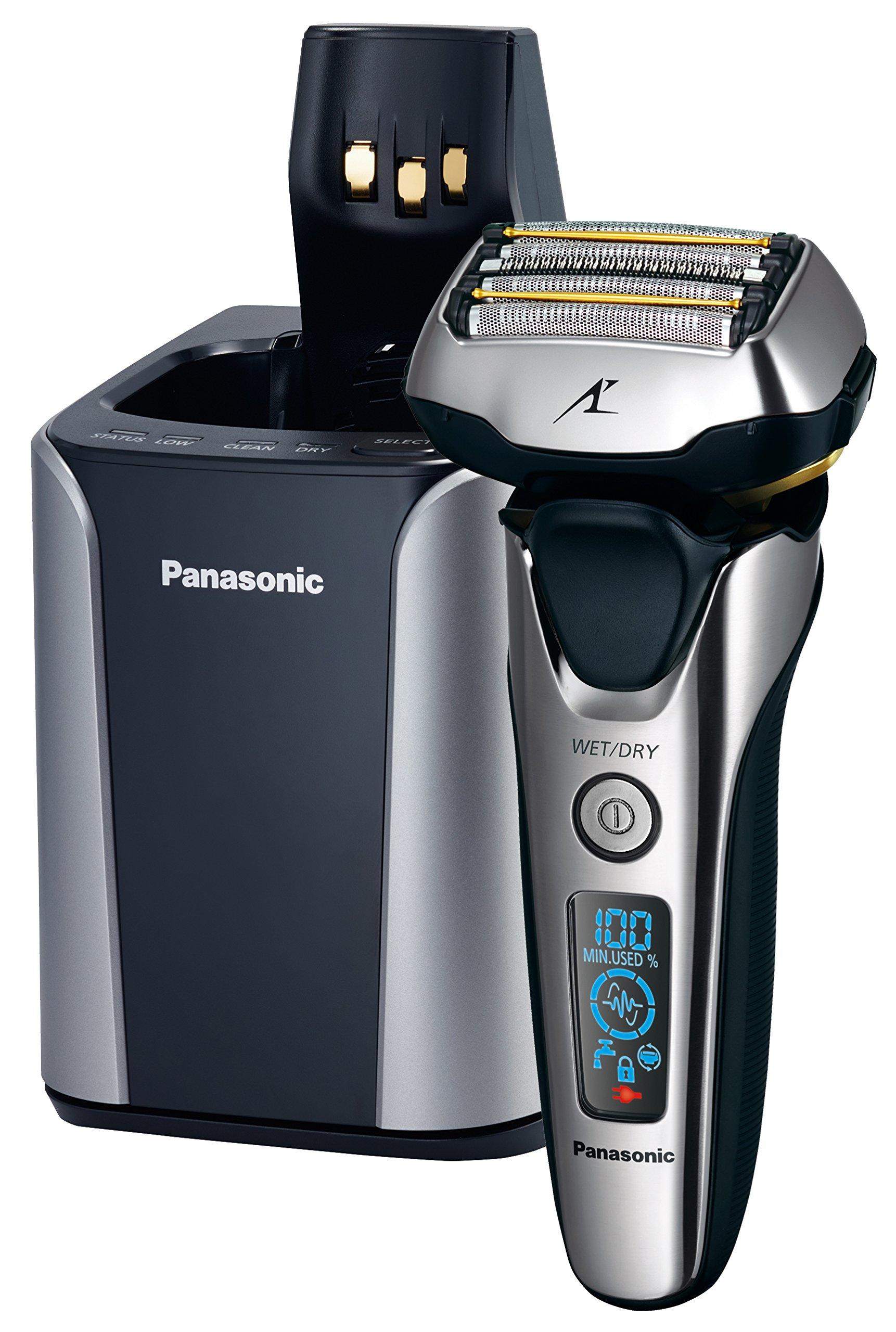Panasonic ES-LV9N Folienrasierer mit ultraflexiblem 3D-Scherkopf, Nass-/Trockenrasur