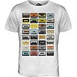 Candymix Cassettes Audio Retro T-Shirt Homme