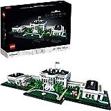 LEGO Architecture LaCasaBianca, Collezione Monumenti per Adulti, Idea Regalo da Collezione, 21054