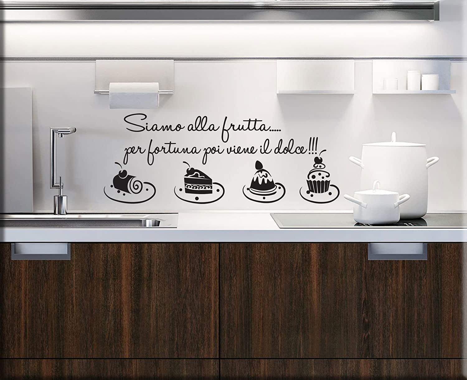 Beautiful Stickers Murali Per Cucina Images - Design & Ideas 2017 ...