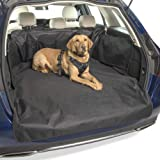 MuttStuff & Co Dog Car Boot Liner Protector Cover with (3-in-1) FREE Pet Seat Belt Waterproof Covers Travel Accessories…
