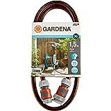 """GARDENA anslutningssats Comfort FLEX 13 mm (1/2""""), 1,5 m: Slangadapter för anslutning till slangvagn, högkvalitativ slang med"""