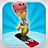 Un estilo libre Snowboarder: Extreme 3D Snowboarding Juego - FREE Edition