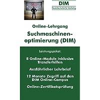 Suchmaschinenoptimierung (SEO) - Online Zertifikatslehrgang