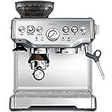Sage SES875BSS2EEU1A - Barista Express Macchina per caffè espresso, cappuccinatore, 15 bar, Acciaio inossidabile, 2400 W, 220