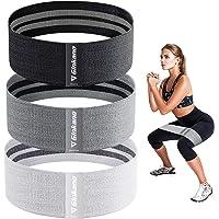 Haquno Elastici Fitness, Fascia Fitness in Tessuto con più Livelli di Resistenza, Adatta per Esercizi a Breve Distanza…
