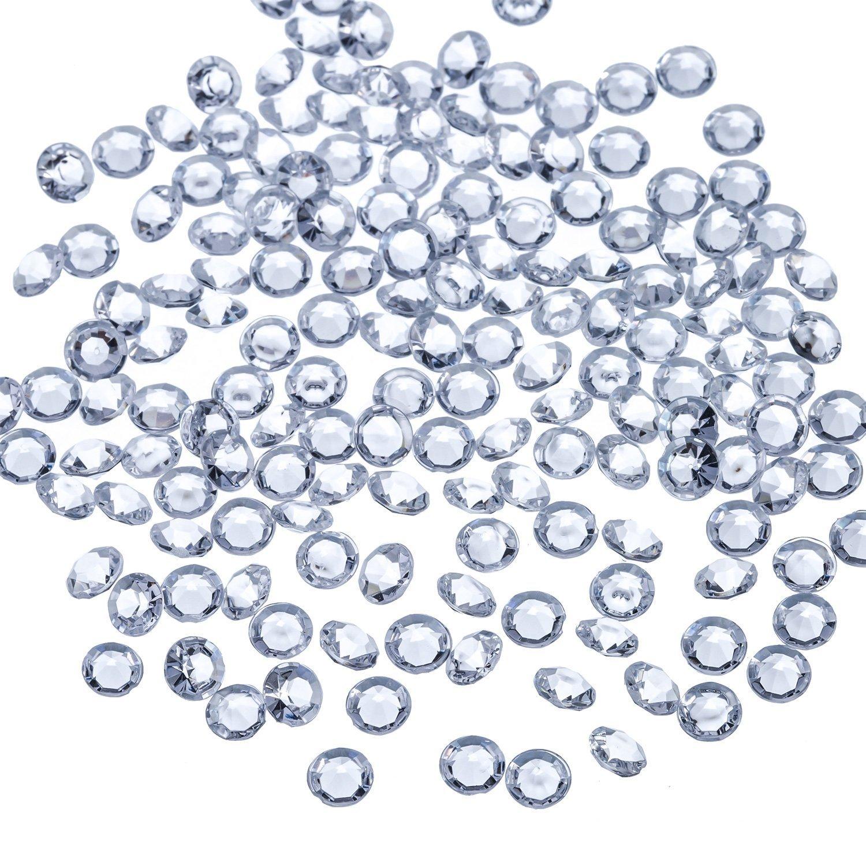 10000 Piezas Diamantes de Acrílico Confeti de Dispersa de Mesa de Boda Transparente para Centro de Mesa Boda Despedida…