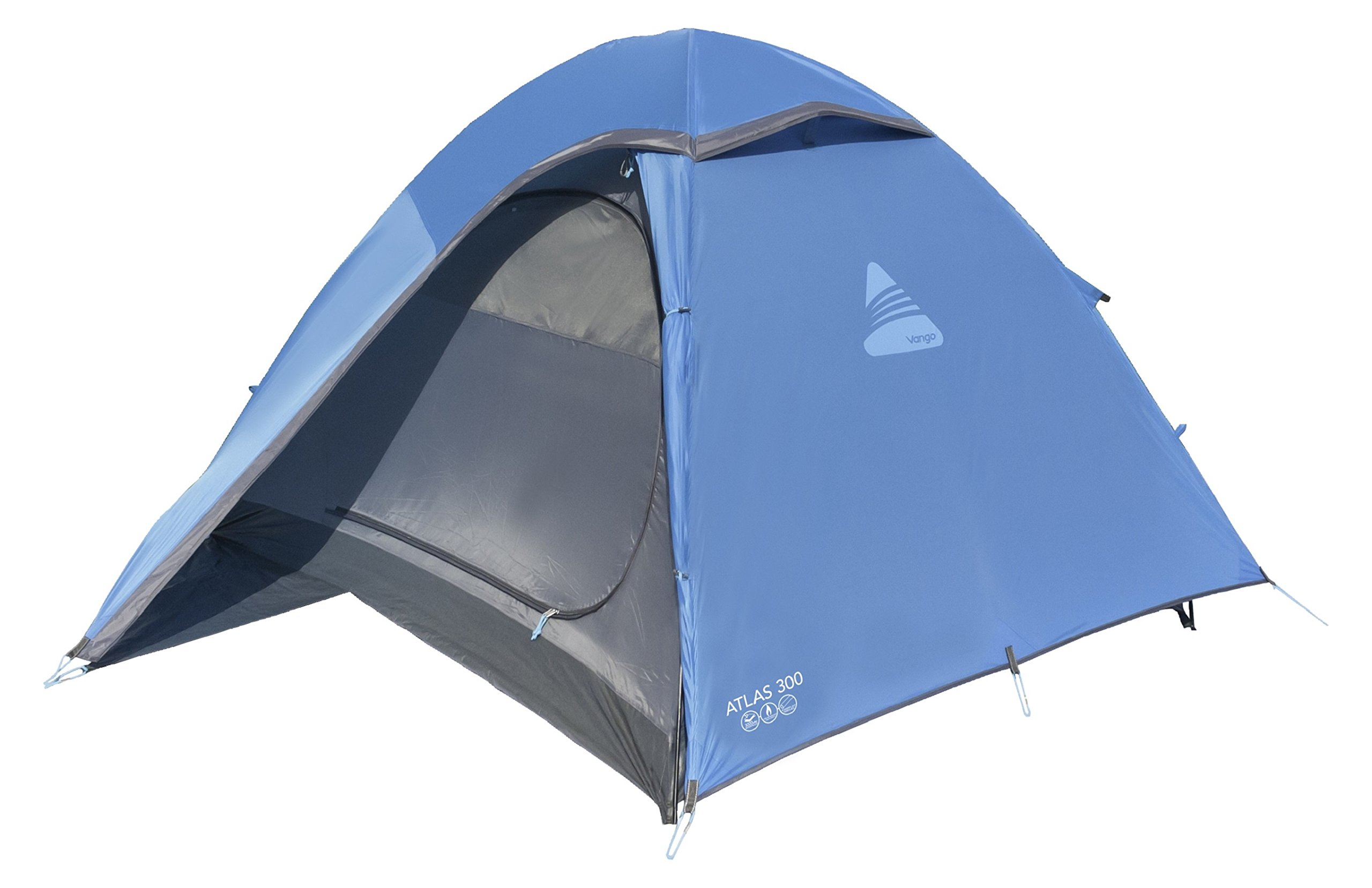 Vango Waterproof Atlas 300 Unisex Outdoor Dome Tent 1