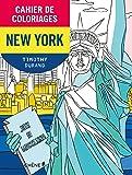 Cahier de coloriages New-York petit format