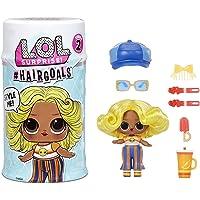 LOL Surprise Hairgoals Série 2 - 15 Surprises à l'Intérieur - Poupée Surprise avec de Vrais Cheveux et Accessoires…
